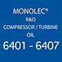 Monolec® R&O Compressor / Turbine Oil 6401-6407