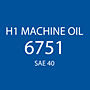 H 1 Machine Oil 6751