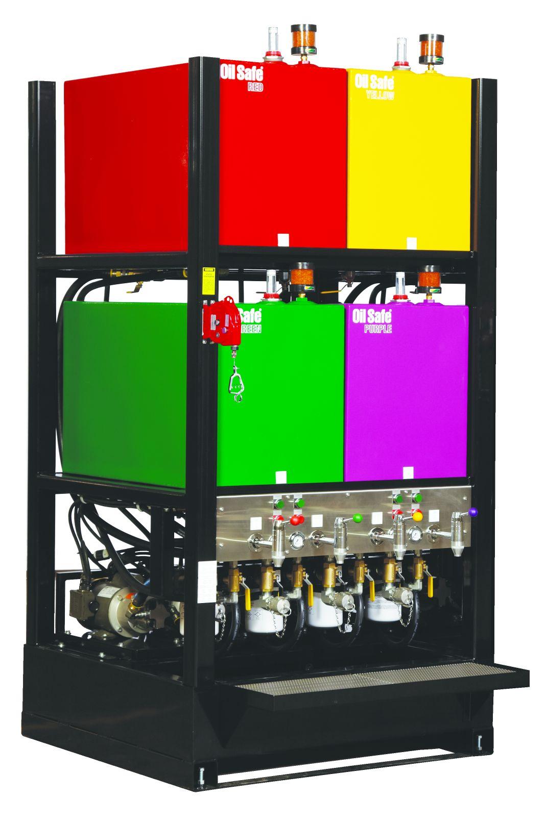 Oil Safe 174 Advanced Bulk Storage Systems On Lubrication