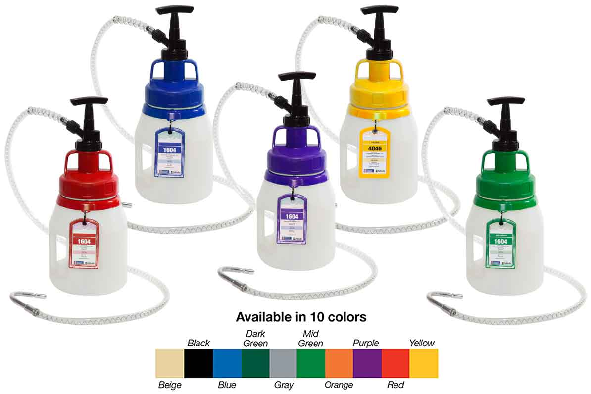Oil Safe Containers ~ for Motor and Engine Oil Topoffs