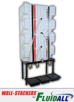 Wall-Stacker™ Poly Tank Lubricant Storage Systems