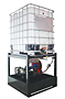 Drum & Tote Dispensing Lubricant Storage Unit (OS-Tote Dispensing Rack)