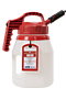 OilSafe Mini Spout 5 Liter Red