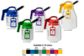 Oil Safe Mini Spout Family Colorbar